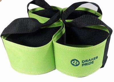 Drakes Pride - Four Bowl Carrier - Lime - Bowls Carry Bag