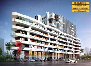 3D Apartment Rendering & Walkthrough Services by 3D Power
