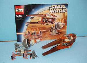 LEGO STAR WARS no 4478, le GEONOSIAN FIGHTER
