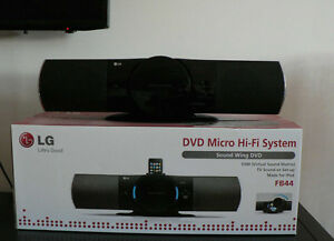 LG Dvd Micro Hifi System