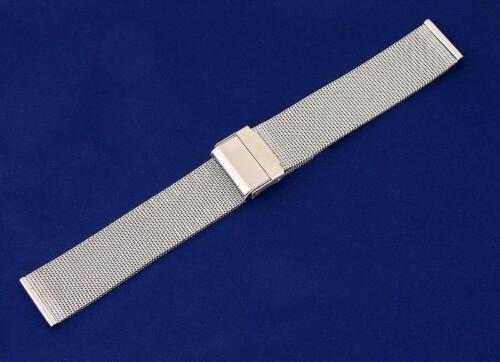 20mm Stainless Steel Mesh Sports/Dress/Formal Watch Bracelet