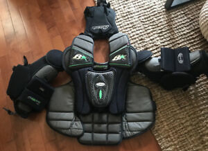Brian's Pro Goalie chest and arm protector