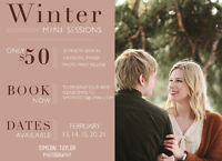 VALENTINES PROMO - Simeon Taylor Photography - MINI SESSIONS