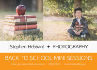 Back to School Mini Sessions | Stephen Hebbard Photography