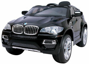 12V BMW X6 Electric Child Ride On Toy Car SUV Remote Radio Doors