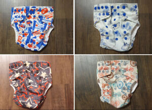 Glow Bug cloth diapers and inserts
