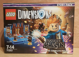 Lego Dimensions : Fantastic Beasts Story Pack. (NEW)