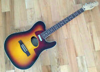 FENDER TELECOUSTIC DELUXE ECHANGE POSSIBLE