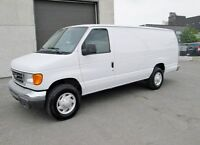 FORD ECONOLINE E-250 ALLONGÉ 2006 112,000 KM AIR CLIMATISÉ
