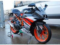 2015 - KTM RC125, AKRAPOVIC, EXCELLENT CONDITION, £3,000 OR FLEXIBLE FINANCE