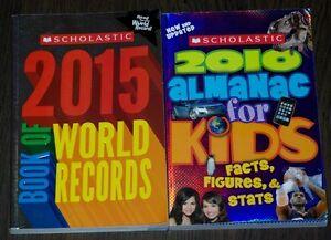 Kids world Record/almanac books