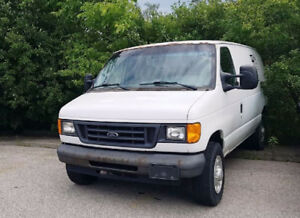 2007 Ford F-250 Cargovan  WELL MAINTAINED