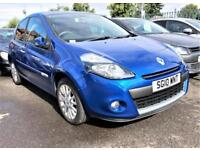 RENAULT CLIO DYNAMIQUE TCE 2010 Petrol Manual in Blue