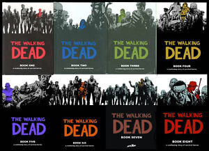 10 Volumes of the Walking Dead Hardcovers -- Mint Condition Set