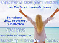 Online Personal Development Training - Earn While You Learn