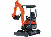 KUBOTA MINI EXCAVATORS FOR RENT!