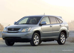 Looking for a used Lexus SUV