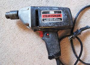 "Sears Craftsman 3/8"" Drill"