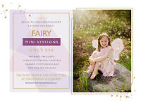 ONLY $90!! Fairy Mini Sessions - Kells' Natural Photography