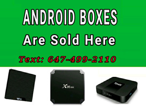 ✓ Plug and Play ✓ Android Boxes  Programming IPTV Movies Shows