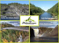 Randonnées (4 destinations départs Trois-Rivières)