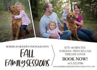 FAMILY PHOTO SESSIONS $175