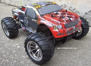 RC Nitro Gas Truck 1/10 Scale 4WD 2.4G