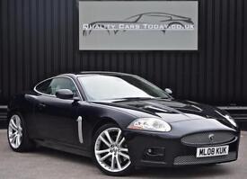 Jaguar XKR 4.2 V8 Supercharged *Midnight Black + Ivory + FJSH*