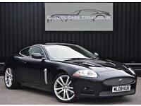 Jaguar XKR 4.2 V8 Supercharged *Midnight Black + Ivory + FJSH*