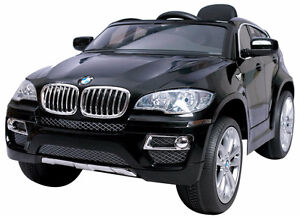 Electric Child Ride On BMW X6 Toy Car SUV 12V Remote Music Doors Windsor Region Ontario image 1