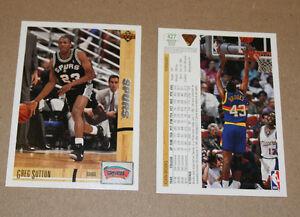 1991-92 Upper Deck Basketball cards Strathcona County Edmonton Area image 1