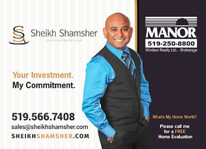 FOR ALL YOUR REAL ESTATE NEEDS !