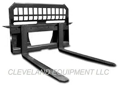48 Pallet Forks Frame Attachment Skid Steer Loader Telehandler 6500 Capacity