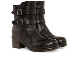 MOMA Leather Buckle Boots From Gravity Pope 8.5