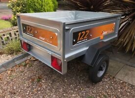 """Erde 122 Camping, utility, Tipping trailer """"Brand New"""""""