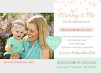 Mommy & Me Photography Sessions, perfect Mothers Day gift!