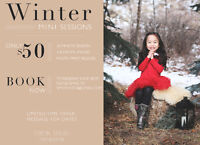 FEBRUARY WINTER MINI SESSIONS - $50- Limited Time Only