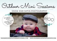 Outdoor mini sessions