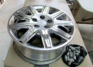 "Set of four 17"" Rims for Cadillac DTS"