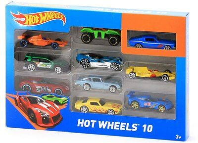 Mattel Hot Wheels 54886-0 - Hot Wheels Autos Fahrzeuge 10er Set NEU / OVP