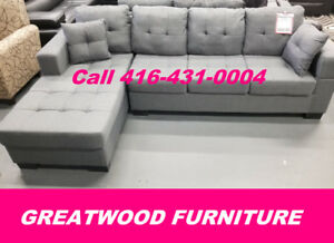 2 PC SECTIONAL WITH REVERSIBLE CHAISE 349$