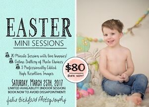 Easter Mini Photography Sessions with real bunnies