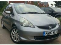 2007 GREY HONDA JAZZ 1.4 MANUAL PETROL CHEAP TO RUN IMMACULATE CAR