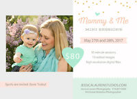 Mommy & Me Photography Sessions, a perfect Mothers Day gift