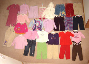 Girls Dresses, Sleepers, Clothes 12, 12-18, 18, 18-24 Shoes 4-6 Strathcona County Edmonton Area image 2