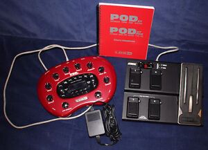 Line 6 Pod XT and FBV Pedal system