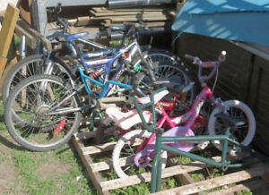6 Bikes in need of repair ***REDUCED***MUST GO***