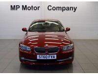 2010 60 BMW 3 SERIES 3.0 330I SE AUTO 269 BHP 2DR 6SP SPORTY AUTO COUPE, RED,