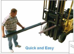rallonge de fourche fork extension lift chariot elevateur Neuf
