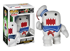 Ghostbusters Stay Puft Domo Pop! Vinyl Figure at JJ Sports!